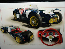 LOTUS 7 SEVEN CATERHAM CARD WEDDING BIRTHDAY CHRISTMAS OCCASSION CARD DUGAN