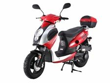 Brand New 149cc Scooter Moped 55Mph 80Mpg Powermax 150 Free trunk Free S/H*