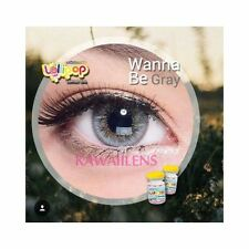 Contact Lenses Color Soft Big Eyes Cosmetic Lollipop Lens Wanna Be Gray