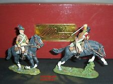 BRITAINS 17538 1ST CONTINENTAL LIGHT DRAGOONS MOUNTED METAL TOY SOLDIER SET