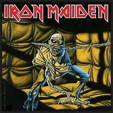 IRON MAIDEN - PIECE OF MIND - WOVEN PATCH - BRAND NEW - MUSIC BAND 2523