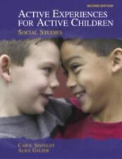 Active Experiences for Active Children: Social Studies (2nd Edition), Galper, Al