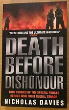 DEATH BEFORE DISHONOUR Nicholas Davies Book (Paperback) NEW