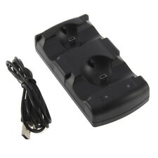 2 in 1 Dual Charging Game Station Charger Stand Dock Holder Mount for PS3 FT