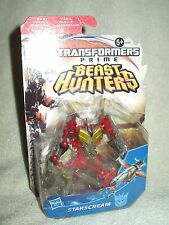 Transformers Action Figure Starscream Prime Beast Hunters Commander Class 5 inch