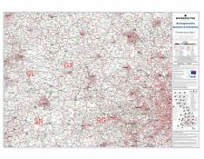 Postcode Sector Map 7 Berkshire, Buckinghamshire and Oxfordshire (Paper)