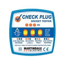 Martindale CP501 Check Plug Socket Tester - Free P&P