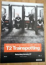 T2 Trainspotting film poster 16x11 inches - sent in a cardboard tube