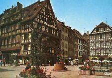 Alte Postkarte - Strasbourg - La place du Marché aux Cochons de Lait