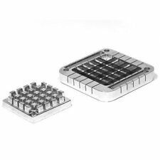 "New UpDate 1/2"" Square French Fry Cutter & Plunger Pusher Block Set Xffc-50B"