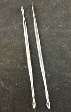 Two Stainless Steel Dabber Tools - Wax, Concentrates, Tobacco, Smoking, Dentist