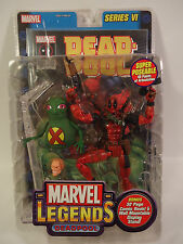 2004 TOYBIZ MARVEL LEGENDS SERIES 6 VI DEADPOOL 6 INCH FIGURE VERY RARE NEW