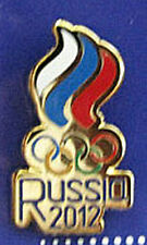 LONDON 2012 Olympic RUSSIA NOC logo Internal team - delegation dated pin