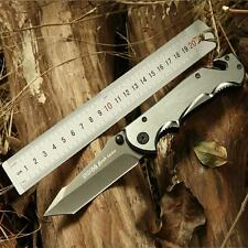 Steel SOG Hunting Knives Sharp Blade Knife Pocket Tactical Handle Survival Tool
