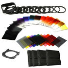 Zomei Whole Set ND2+4+8+16+Color Square Filter Kit Neutral Density for Cokin P