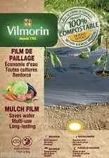 Film de paillage toutes cultures renforcées - 1,30m x 8m - 35µm - potager jardin