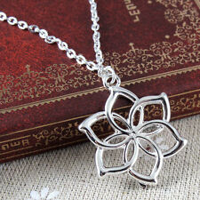 The Hobbit Fairy Queen Silver Plated Alloy Galadriel Flower Necklace New