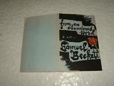 Samuel Beckett from An Abandoned Work First Edition Faber & Faber 1958
