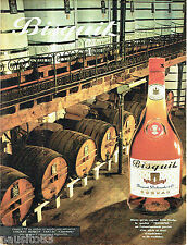 PUBLICITE ADVERTISING 096  1961  Cognac Bisquit Triomphe