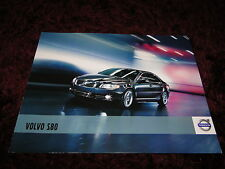 Volvo S80 Brochure 2011 - 04/2010 Issue