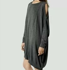 Bnwt Allsaints SAGO DRESS.charcoal.��current season style��. £128.uk sz 6