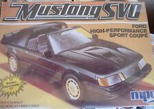1985 FORD SVO TURBO MPC 1-0779 1:25 WRAPPED 2N1 STOCK or STREET KIT