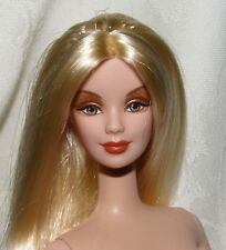 NUDE BARBIE DOLL MORNING SUN PRINCESS MACKIE LONG BLONDE HAIR FOR OOAK