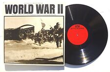 BUD GREENSPAN The Voices And Sounds Of World War II LP RIVERSIDE RECORDS 2XLP