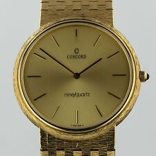 Concord 14k Solid Gold Vintage Men's Watch