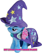 My Little Pony Trixie 11'' Plush Toy Hat & Cape New w/ Tag 4th Dimension