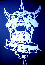 high detail airbrush stencil  skull  26 with eyes FREE UK POSTAGE