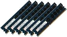 6x 8gb 48gb ddr3 1333 MHz/1066 MHz RAM ECC Apple Mac Pro 4,1 5,1 pc3-10600