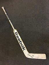 MARC ANDRE FLEURY PITTSBURGH PENGUINS GAME USED REEBOK STICK UNCRACKED WHITE