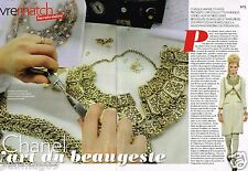 Coupure de Presse Clipping 2011 (5 pages) Chanel,l'art des Bijoux