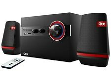 QFX BT-206 2.1-Channel Bookshelf Speaker +Bluetooth +FM Radio +USB/SD/AUX
