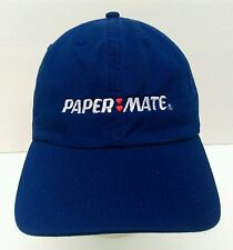 New listing Papermate Pens embroidered double hearts logo adjustable strap casual hat cap