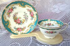 "Tuscan 'NAPLES"" Turquoise Tea cup & Saucer (226)"