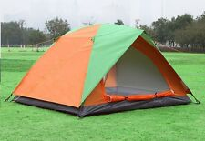 PICNIC CAMPING HIKING TENT WITH EXTRA RAIN COVER FOR 2 PERSON-DC-1