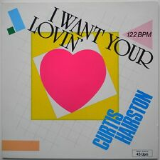 "12"" DE**CURTIS HAIRSTON - I WANT YOUR LOVIN (JUST A LITTLE BIT)**25546"