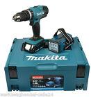 MAKITA Akku-Schlagbohrschrauber DHP453RYLJ 2x18 V, 1,5 Ah, im MAKPAC Koffer