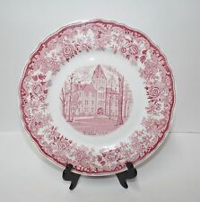 "Vintage Walker China Vitrified Bedford Ohio 10"" Plate Dish - Hiram College"