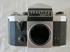 PRAKTICA FX SUPER TL GERMANY 35MM FILM CAMERA NO LENS MORE LISTED