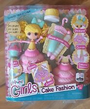 "NUOVO Lalaloopsy RAGAZZE COMPLEANNO PER TORTA FASHION DOLL CANDELA Slice o ""TORTA Lala Loopsy"