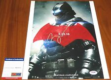 Ben Affleck Signed 11x14 Batman Bruce Wayne Dawn of Justice PSA/DNA