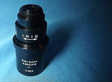 Leica Plan Achromat 0.66x Video Microscope  Objective Lens 20.32mm rms Threads
