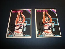 Clem Haskins 1975-76 Topps #173 Bullets Western Kentucky Signed Autograph N13