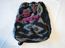 Billabong Girls juniors book bag back pack bookbag surf skate black white NEW^^
