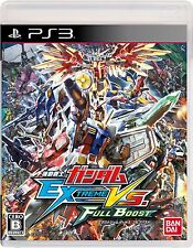 USED PS3 Gundam Extreme Vs. Full Boost Bandai namco entertainment F/S Japan