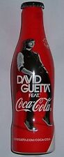 COCA COLA FRANKREICH DAVID GUETTA FLASCHE CAN COKE MUSIC ALU BOTTLE RAR