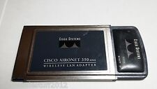 cisco aironet 350 series pcmcia wireless wifi lan network adapter air-pcm352